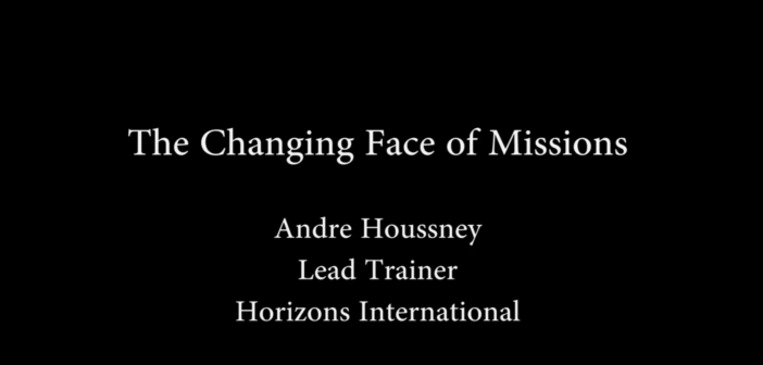 [VIDEO] The Changing Face of Missions