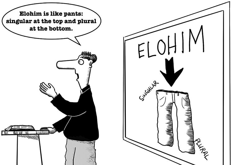 What does Elohim mean?
